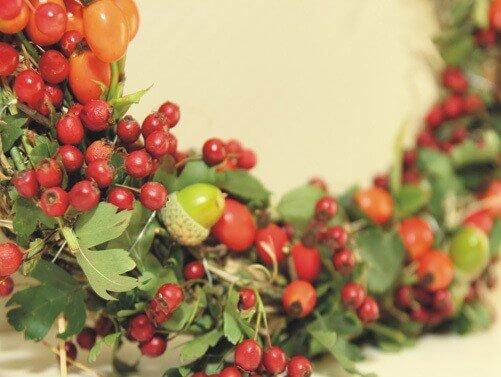 Türkranz grün und rot bei floristweb